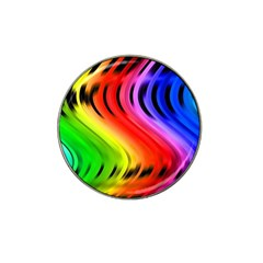 Colorful Vertical Lines Hat Clip Ball Marker (10 Pack)