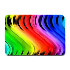 Colorful Vertical Lines Plate Mats