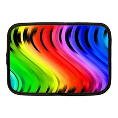 Colorful Vertical Lines Netbook Case (medium)