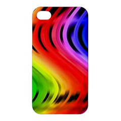 Colorful Vertical Lines Apple Iphone 4/4s Hardshell Case