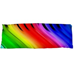 Colorful Vertical Lines Body Pillow Case (Dakimakura)