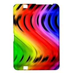 Colorful Vertical Lines Kindle Fire HD 8.9