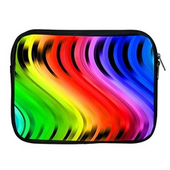 Colorful Vertical Lines Apple Ipad 2/3/4 Zipper Cases
