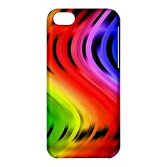 Colorful Vertical Lines Apple Iphone 5c Hardshell Case