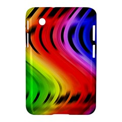 Colorful Vertical Lines Samsung Galaxy Tab 2 (7 ) P3100 Hardshell Case
