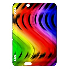 Colorful Vertical Lines Kindle Fire HDX Hardshell Case