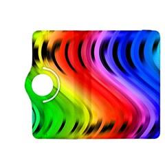 Colorful Vertical Lines Kindle Fire HDX 8.9  Flip 360 Case