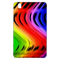 Colorful Vertical Lines Samsung Galaxy Tab Pro 8.4 Hardshell Case