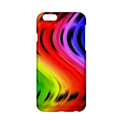 Colorful Vertical Lines Apple iPhone 6/6S Hardshell Case
