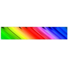 Colorful Vertical Lines Flano Scarf (large)