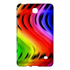 Colorful Vertical Lines Samsung Galaxy Tab 4 (8 ) Hardshell Case