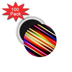 Funky Color Lines 1.75  Magnets (100 pack)