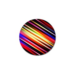 Funky Color Lines Golf Ball Marker (4 pack)
