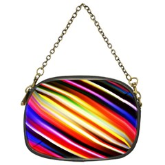 Funky Color Lines Chain Purses (One Side)