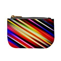 Funky Color Lines Mini Coin Purses