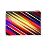 Funky Color Lines Cosmetic Bag (Large)  Back