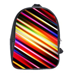 Funky Color Lines School Bags(Large)