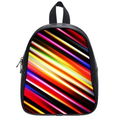 Funky Color Lines School Bags (small)