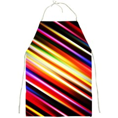 Funky Color Lines Full Print Aprons