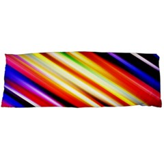 Funky Color Lines Body Pillow Case Dakimakura (Two Sides)