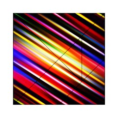 Funky Color Lines Acrylic Tangram Puzzle (6  x 6 )