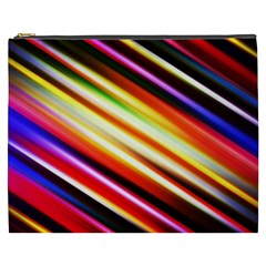 Funky Color Lines Cosmetic Bag (XXXL)