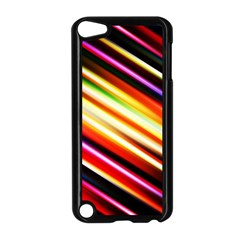 Funky Color Lines Apple iPod Touch 5 Case (Black)