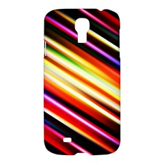 Funky Color Lines Samsung Galaxy S4 I9500/i9505 Hardshell Case