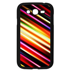 Funky Color Lines Samsung Galaxy Grand Duos I9082 Case (black)