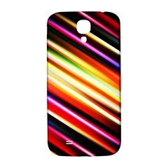 Funky Color Lines Samsung Galaxy S4 I9500/I9505  Hardshell Back Case