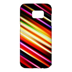 Funky Color Lines Samsung Galaxy S7 Edge Hardshell Case
