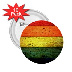 Five Wall Colour 2.25  Buttons (10 pack)