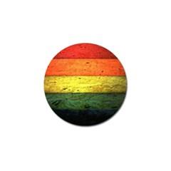 Five Wall Colour Golf Ball Marker