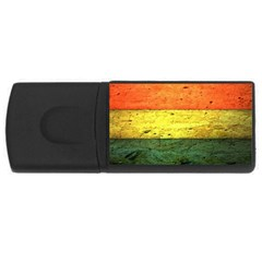 Five Wall Colour USB Flash Drive Rectangular (2 GB)