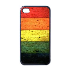 Five Wall Colour Apple Iphone 4 Case (black)