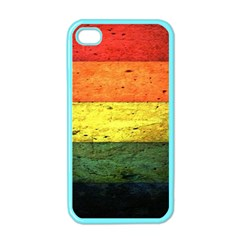 Five Wall Colour Apple iPhone 4 Case (Color)