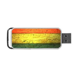 Five Wall Colour Portable USB Flash (Two Sides)