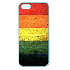 Five Wall Colour Apple Seamless Iphone 5 Case (color)