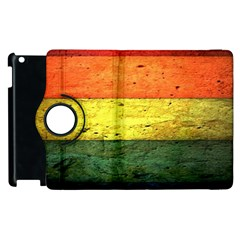 Five Wall Colour Apple Ipad 2 Flip 360 Case