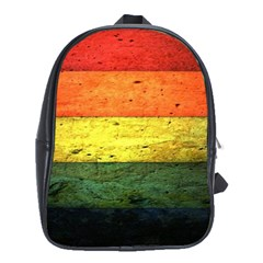 Five Wall Colour School Bags (xl)