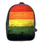 Five Wall Colour School Bags (XL)  Front