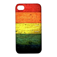 Five Wall Colour Apple iPhone 4/4S Hardshell Case with Stand
