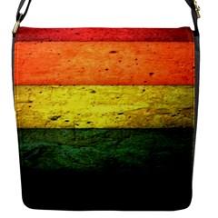 Five Wall Colour Flap Messenger Bag (s)