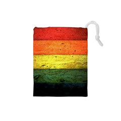 Five Wall Colour Drawstring Pouches (small)