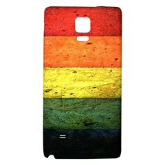 Five Wall Colour Galaxy Note 4 Back Case