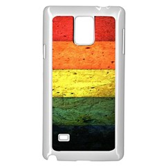 Five Wall Colour Samsung Galaxy Note 4 Case (white)