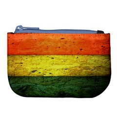 Five Wall Colour Large Coin Purse