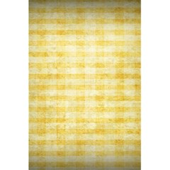 Spring Yellow Gingham 5 5  X 8 5  Notebooks