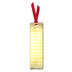 Spring Yellow Gingham Small Book Marks