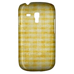 Spring Yellow Gingham Galaxy S3 Mini